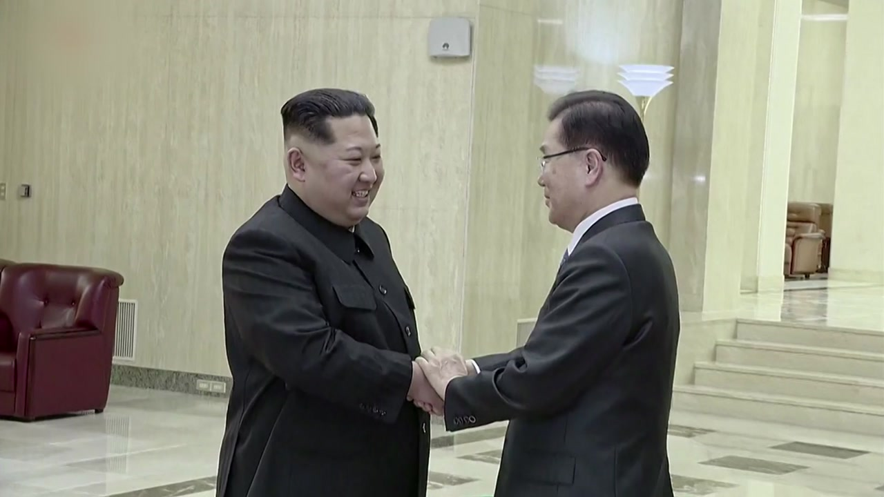 """대북 특사 오늘 방북...""""문 대통령 친서 휴대"""""""