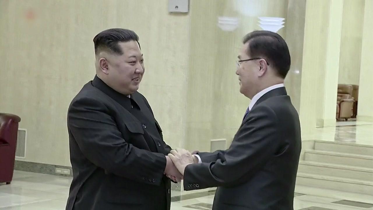 대북 특사단, 김정은 北 국무위원장 면담