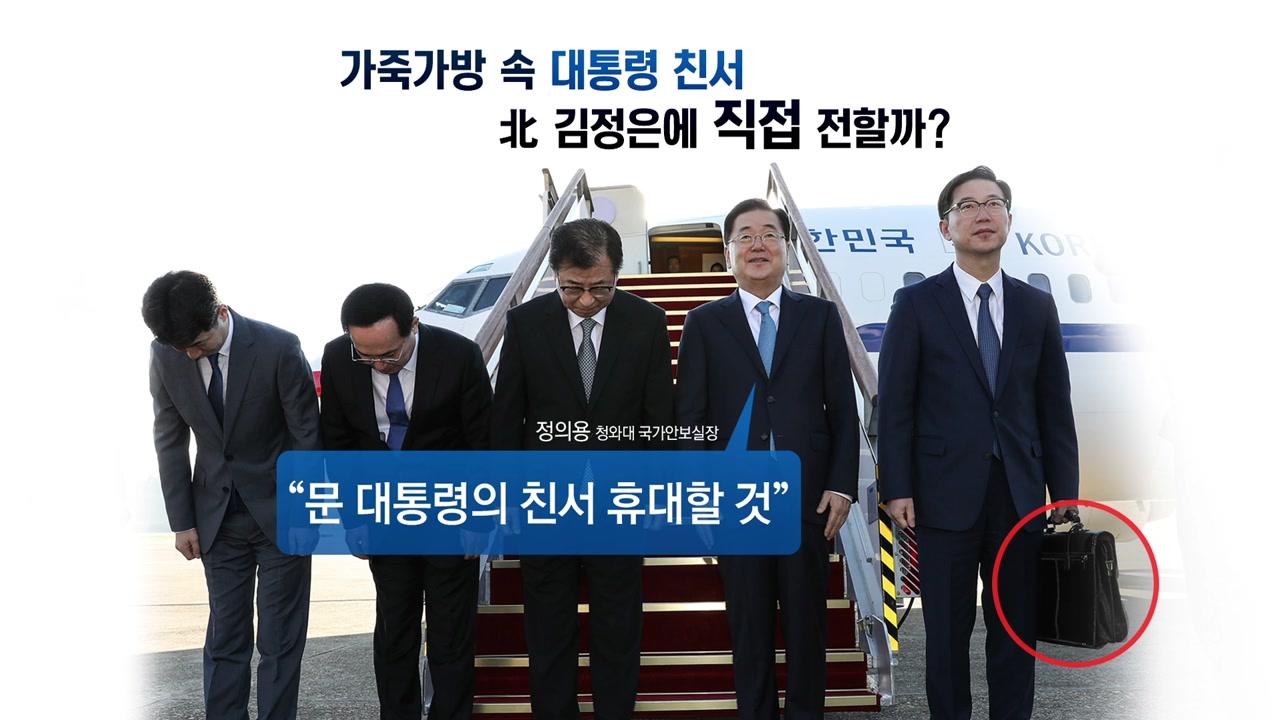 특사단 방북...남북·북미관계 중대 분수령