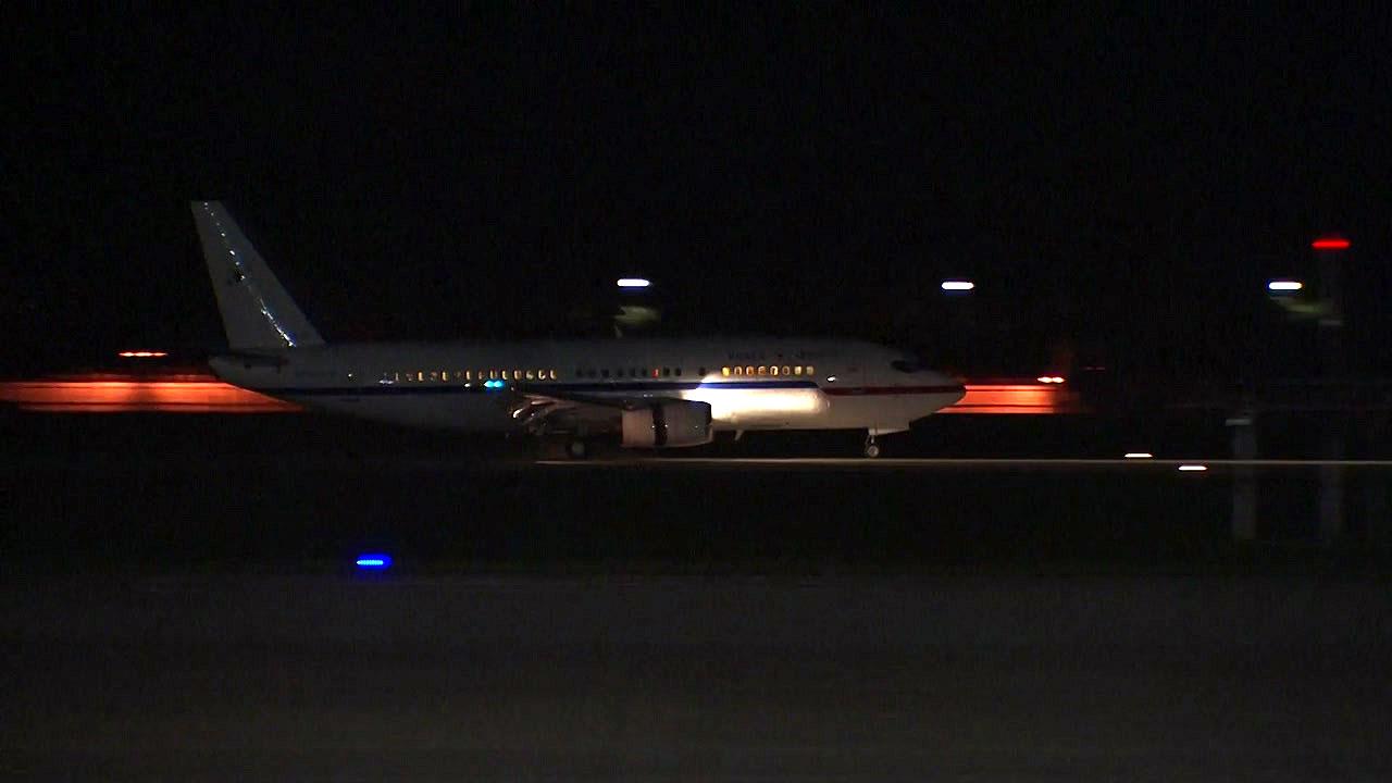 [현장영상] 대북특사단, 평양 방문 마치고 서울공항 도착