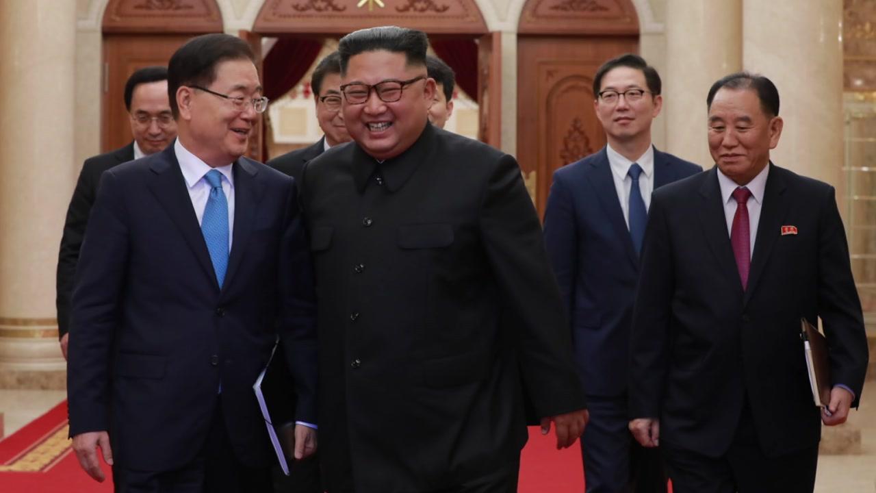 대북 특사단, 심야 방북 보고...오늘 결과 발표
