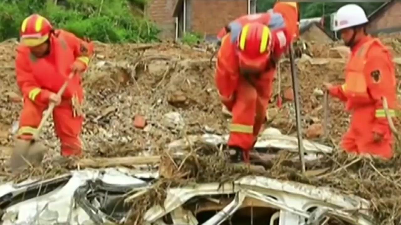 中 윈난성 산사태...20명 사망·실종