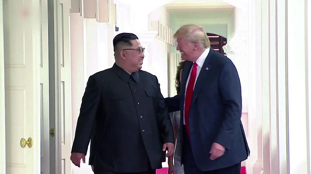 """트럼프, 김정은 '변함없는 신뢰' 표시에 """"함께 해낼 것"""" 트윗"""