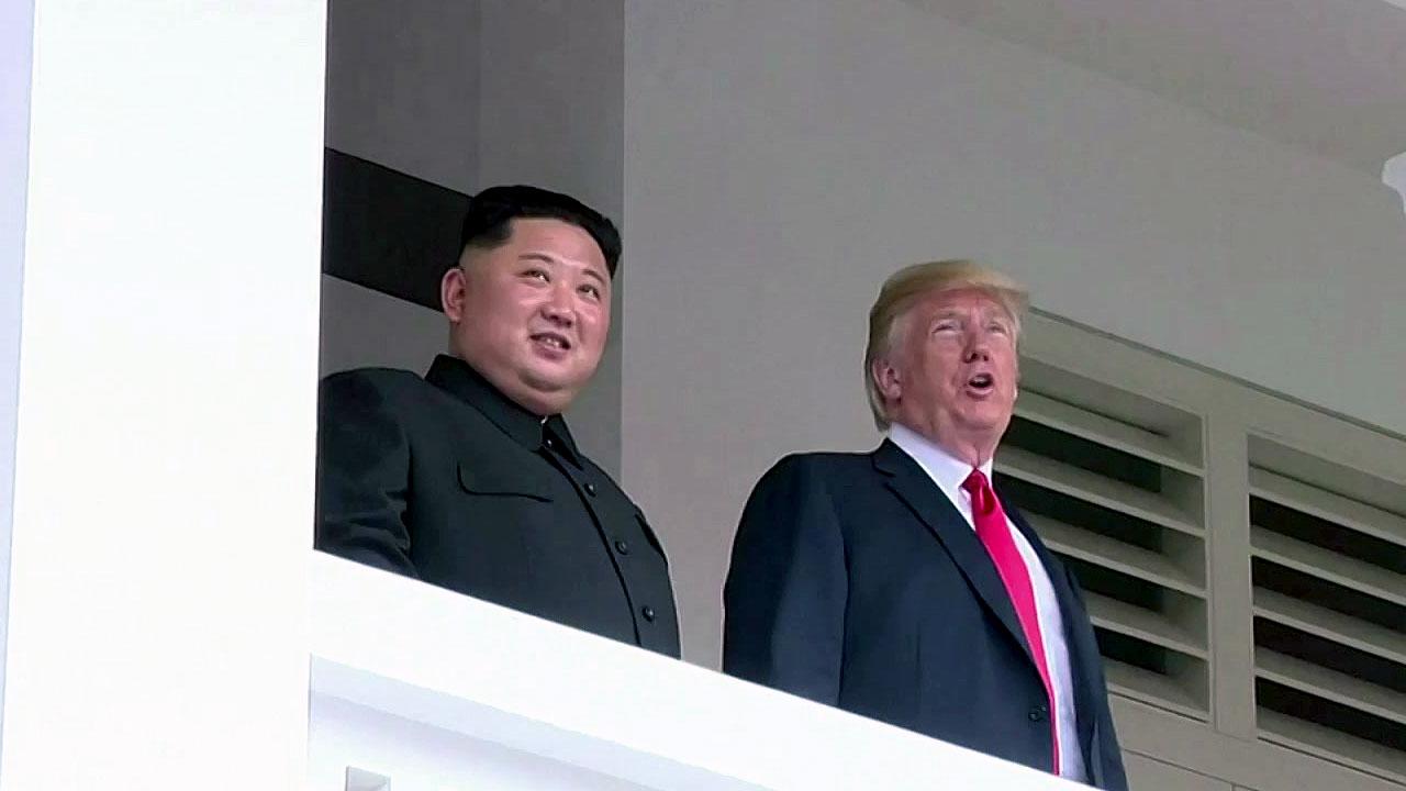 """트럼프 """"김정은 신뢰에 감사""""...폼페이오, 北 비핵화 """"할 일 산적"""""""