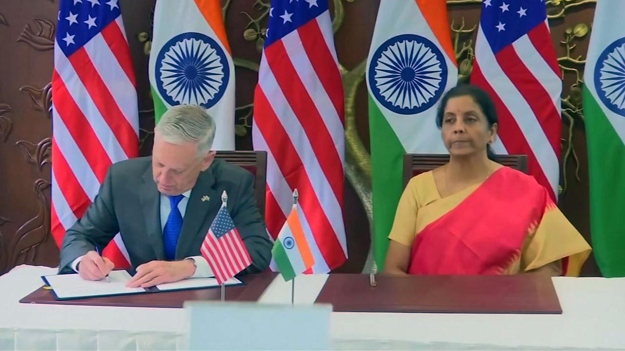 미국·인도 '동맹급' 군사협력 합의...中 견제