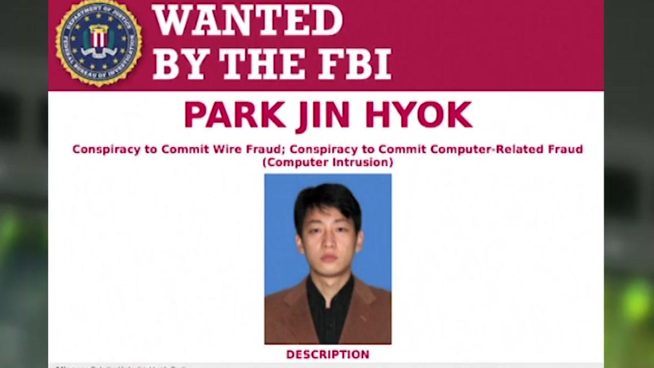 美, 北 사이버공격 첫 제재...北 해커 기소
