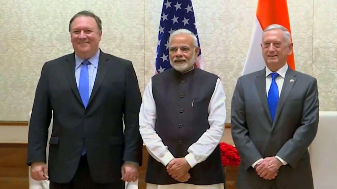 美·인도, 동맹급 군사협력...中 견제