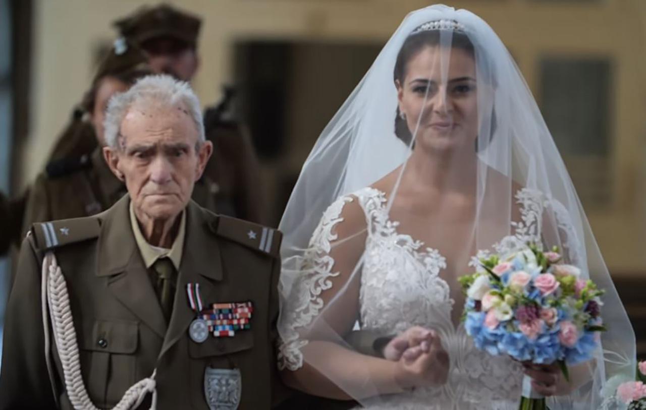 나치에 저항한 전쟁 영웅, 손녀 결혼식 이틀 후 사망