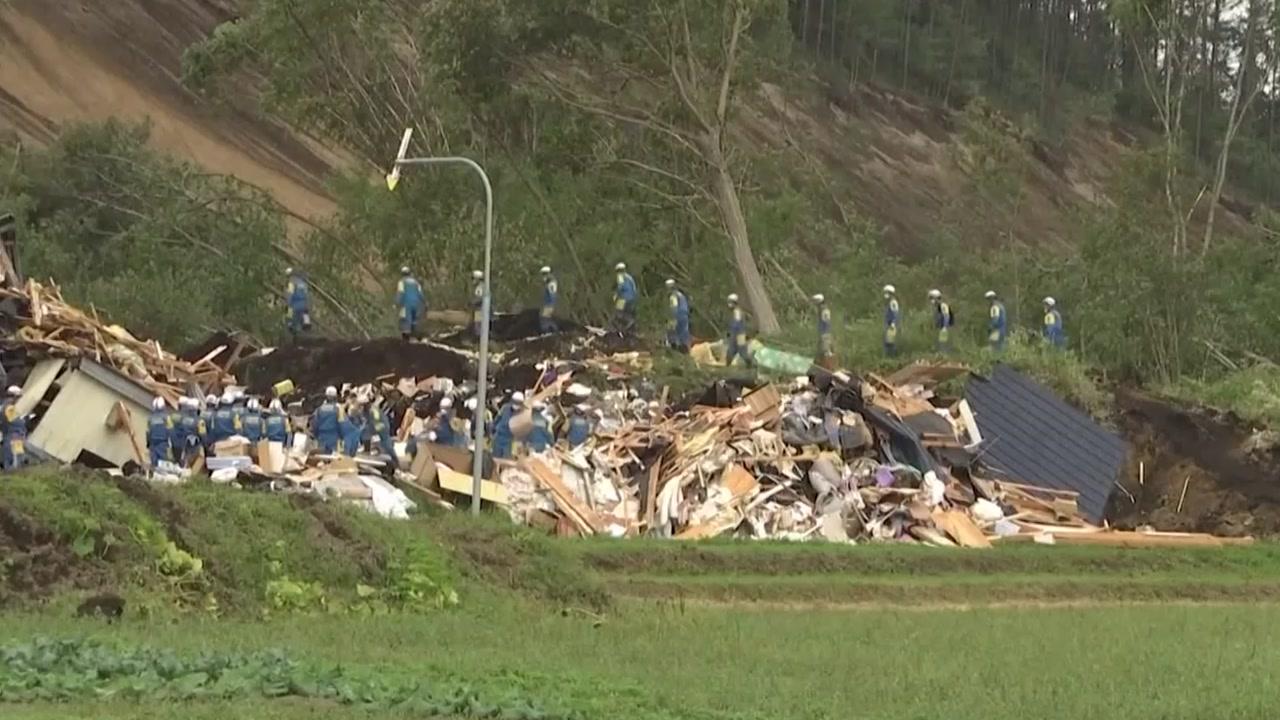 日 홋카이도 강진 사망자 30명으로 증가