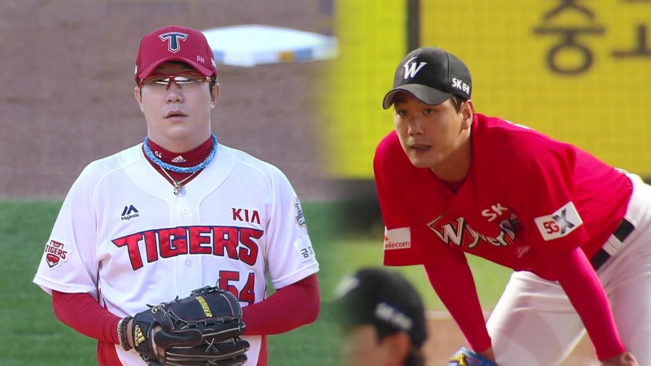 '왼손 에이스' 양현종·김광현, 엇갈린 희비