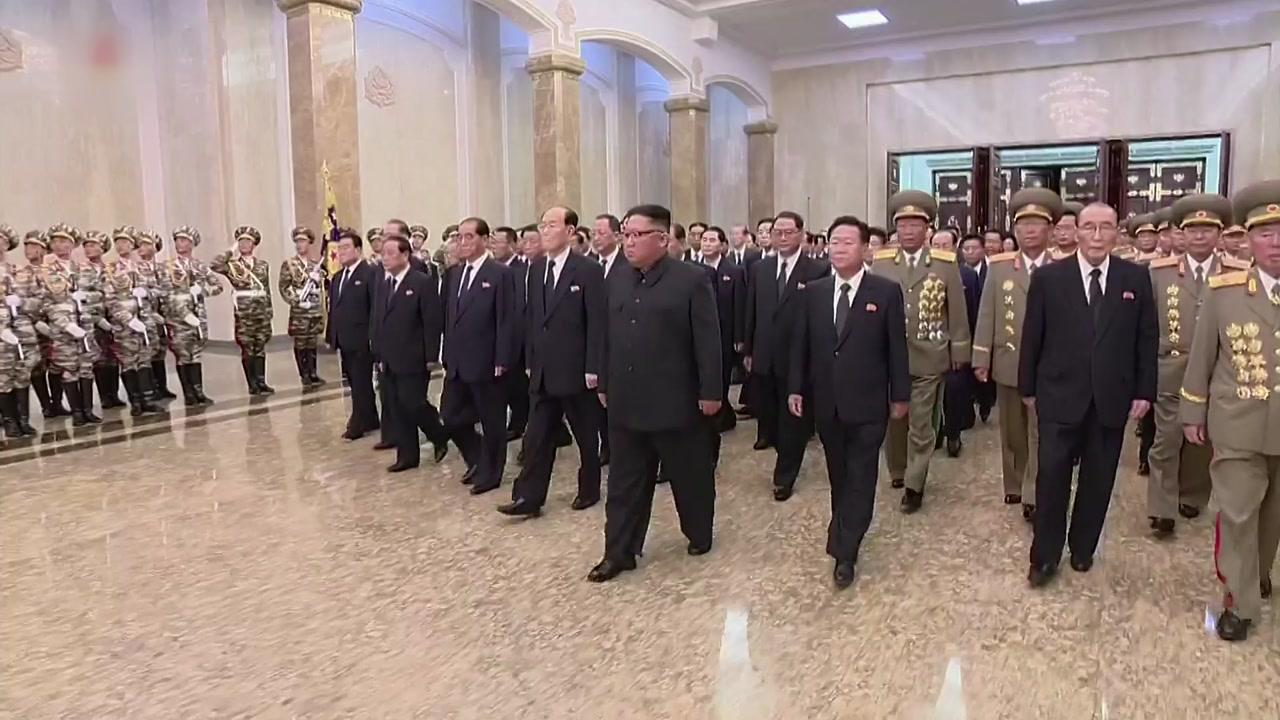 北 김정은, 9·9절에 금수산 궁전 참배
