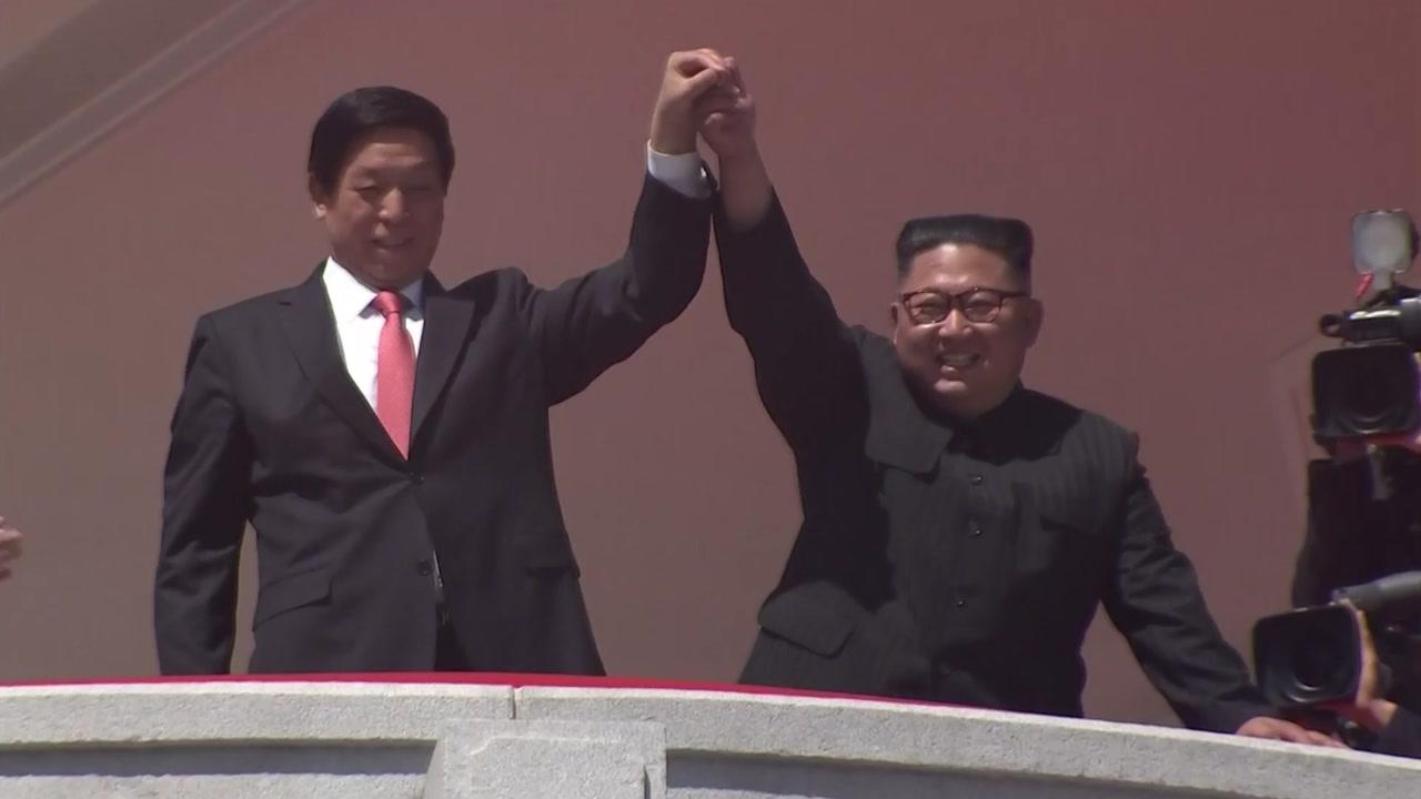 """""""北 열병식 오전 진행...ICBM 등장 안 해"""""""