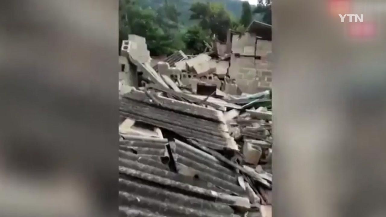 中 윈난성 푸얼시 규모 5.9 강진...28명 부상