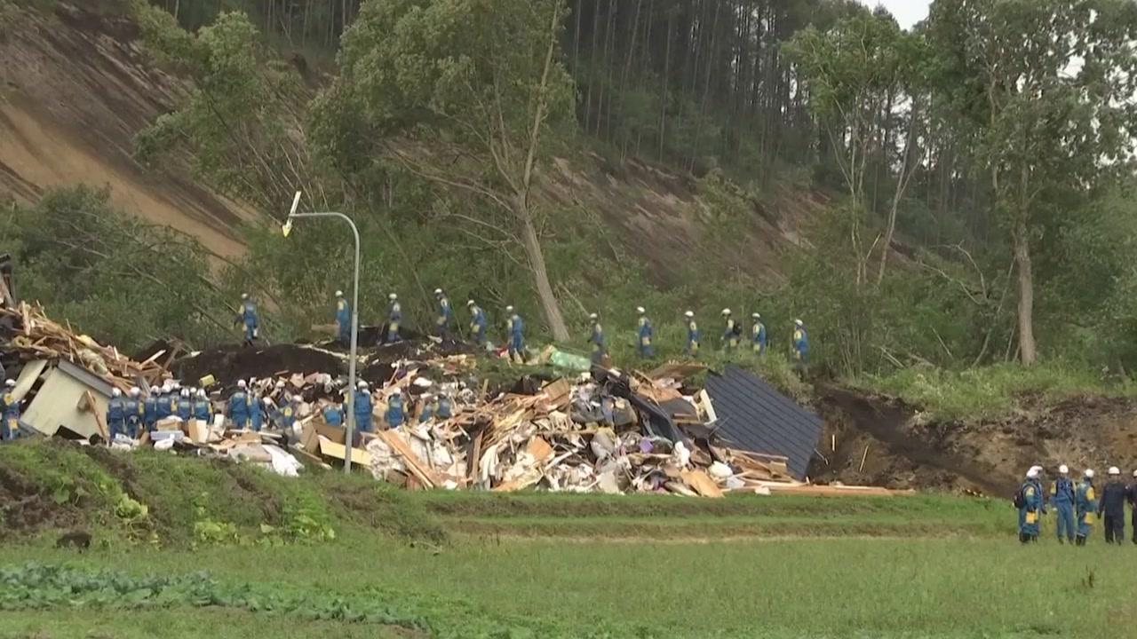 日 홋카이도 강진 사망자 39명으로 증가