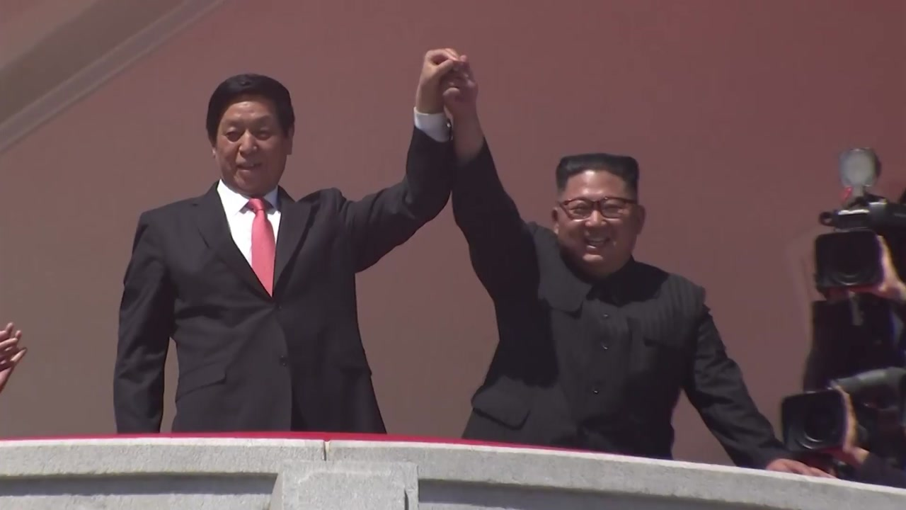 시진핑, 김정은에 친서...北-中 우호 강조