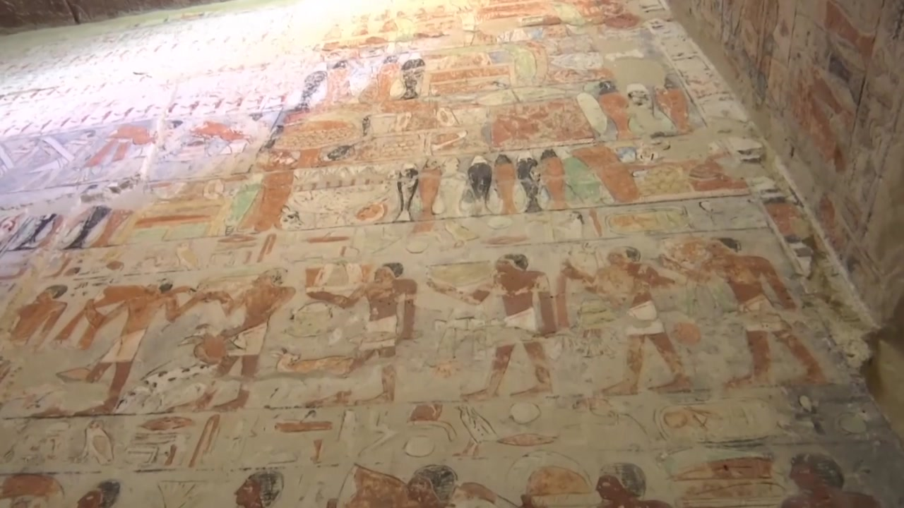 이집트, 사카라 유적지 4,300년 전 무덤 첫 공개