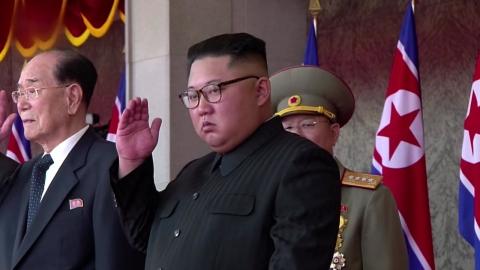 """北, 열병식 영상 뒤늦게 공개‥.정부 """"좋은 메시지"""""""