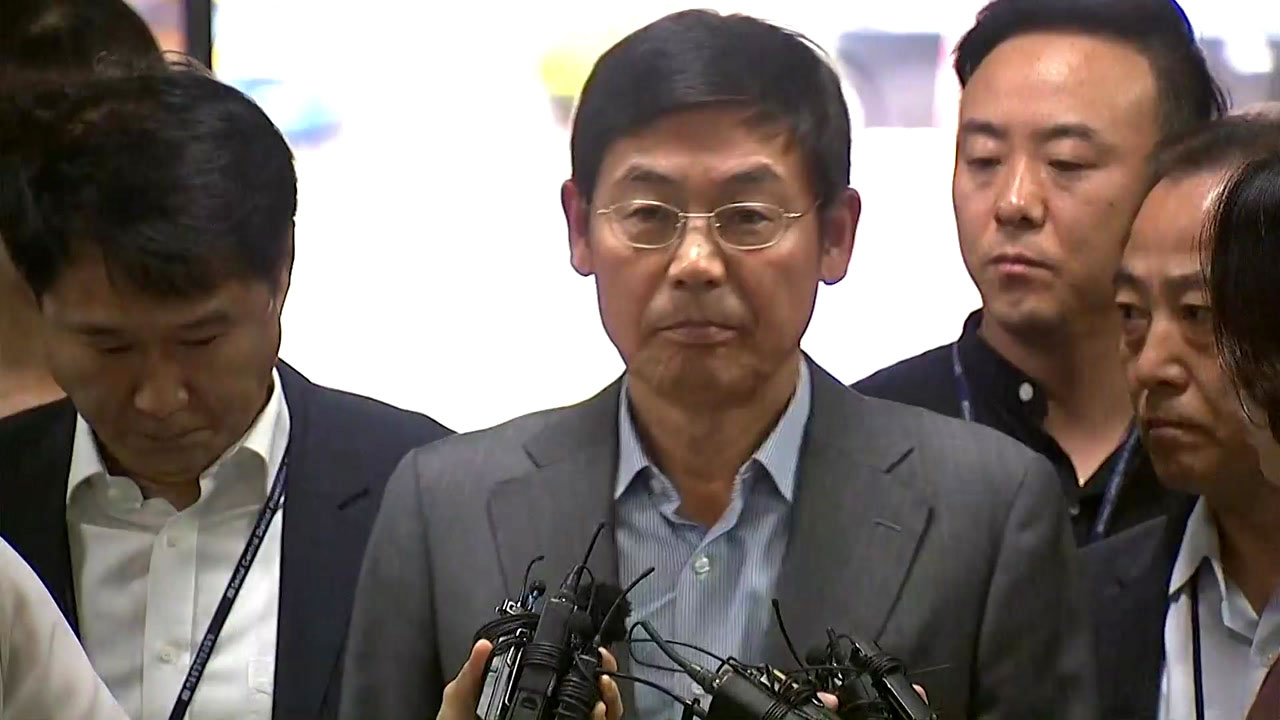 [현장영상] '노조와해' 이상훈 삼성전자 이사회 의장, 구속 전 피의자 심문 출석