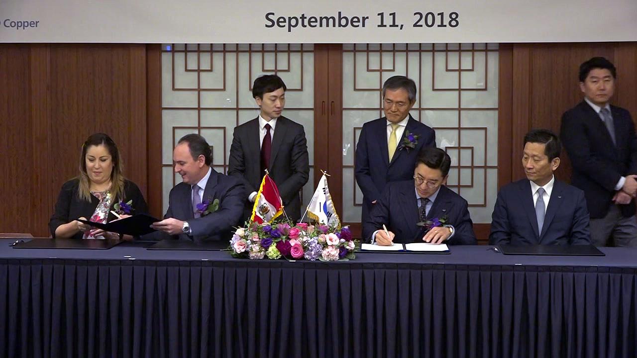 [기업] LS니꼬동제련, 페루 민수르 광물 10년간 구매 계약