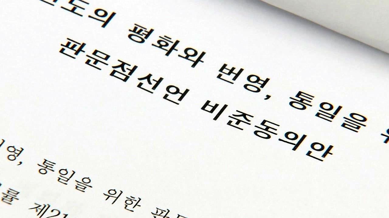 """판문점선언 비준동의안 국회 제출...""""2,986억 추가 소요"""""""