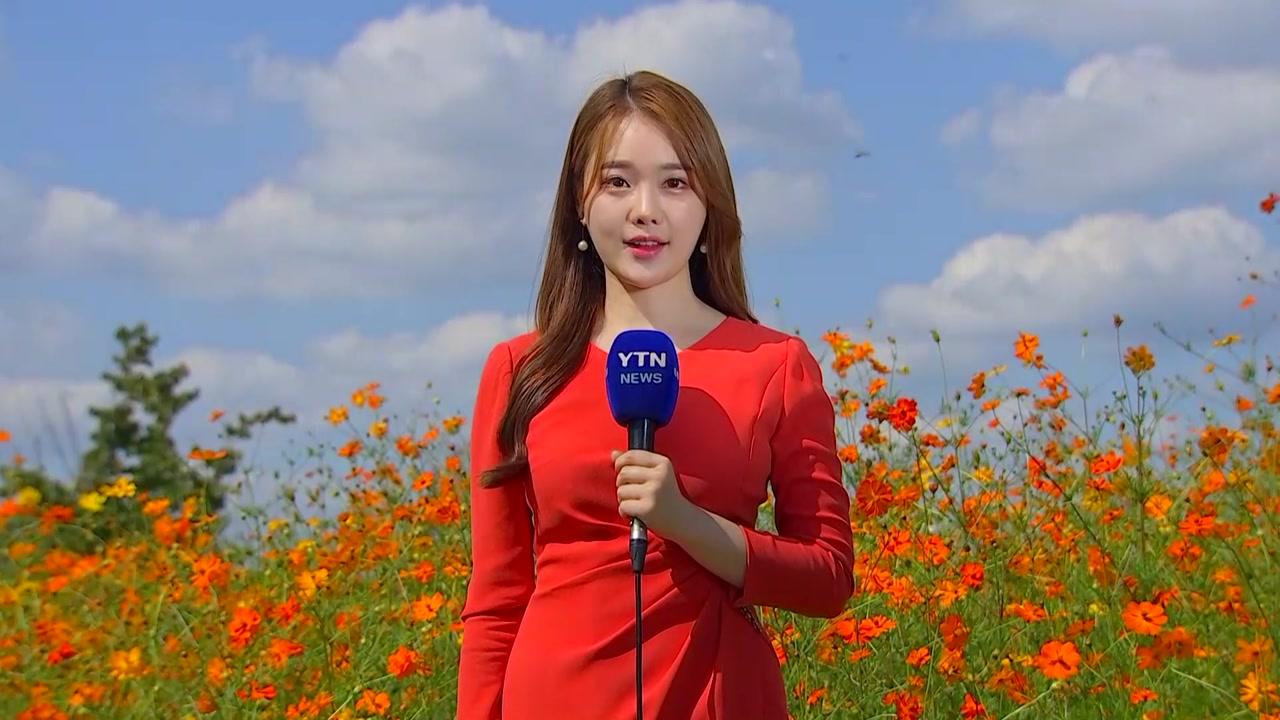 [날씨] 가을볕에 기온 껑충, 서울 27.5℃...내일 남해안·제주 비