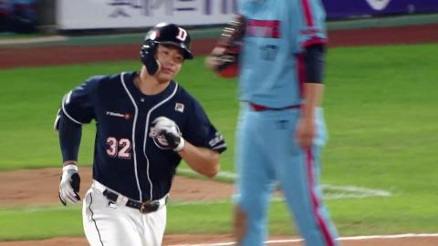 김재환, 2경기 연속 '2홈런 5타점'