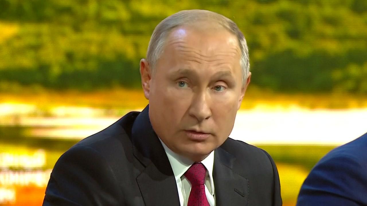 """푸틴 """"국제사회가 집단으로 북 체제 안전 보장해줘야"""""""