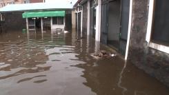 제주 동남부, 300mm 폭우...비 피해 잇따라