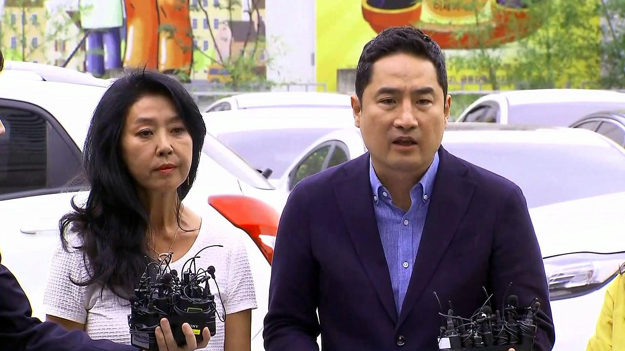 """""""법의 심판 받게 할 것""""...김부선, 강용석과 경찰 조사"""