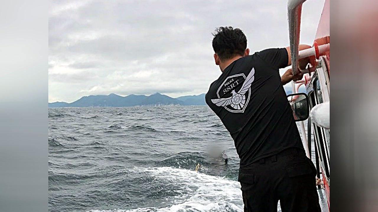 스쿠버다이빙 하던 60대, 실종 3시간 만에 구조