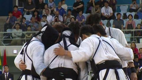 남자 검도, 세계선수권 단체전 3회 연속 준우승