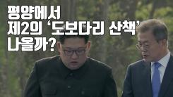 [자막뉴스] 평양에서 제2의 '도보다리 산책' 나올까?