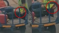'짐 옮기다 주머니로 쓱' 승객 수하물서 스피커 훔치는 공항 직원