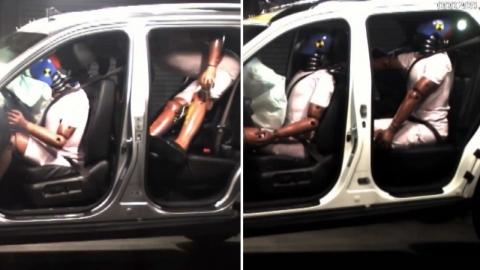 고속도로에서 뒷좌석도 안전띠 매세요…미착용자 사망률 4배 높아