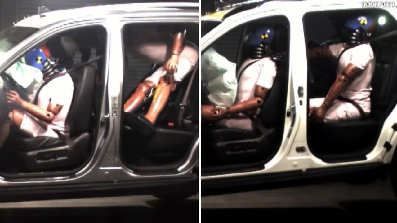 고속도로에서 뒷좌석도 안전띠 매세요...미착용자 사망률 4배 높아