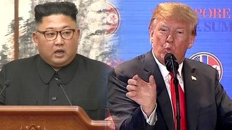 """김정은 """"조건부 폐기""""…트럼프 """"20% 비핵화"""" 접점"""