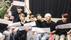 """방탄소년단, 바쁜 스케줄 속에도 팬들 향한♥ """"LOVE&THANKS"""""""
