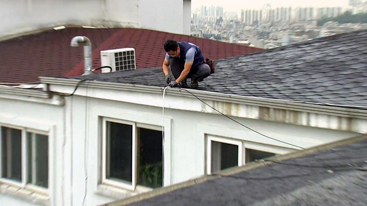 """""""오늘도 전쟁""""...사고 위험 내몰린 외주노동자"""