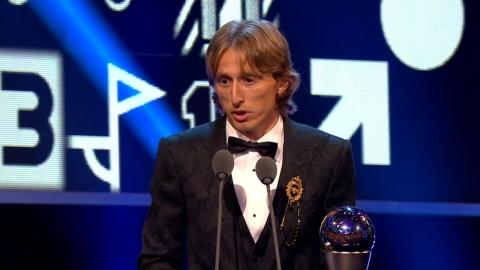 월드컵 준우승 이끈 모드리치, FIFA 올해의 선수