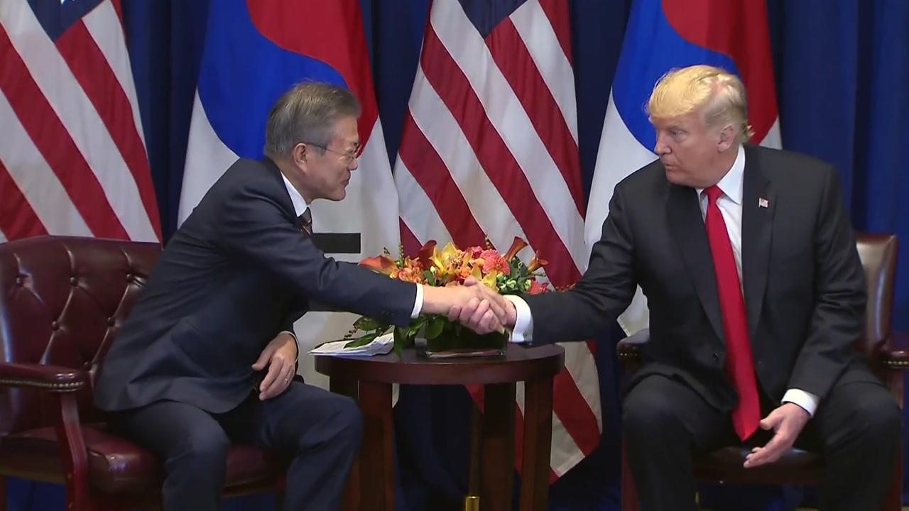 """""""종전선언·북미회담 일정 깊이 논의...대북 제재는 유지"""""""