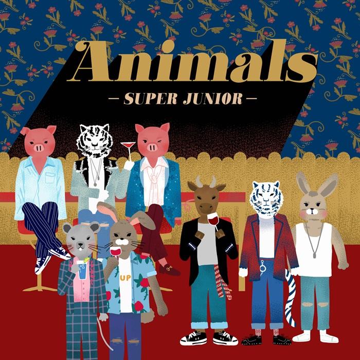 슈퍼주니어 신곡 'Animals', 아이튠즈 전 세계 17개 지역 1위