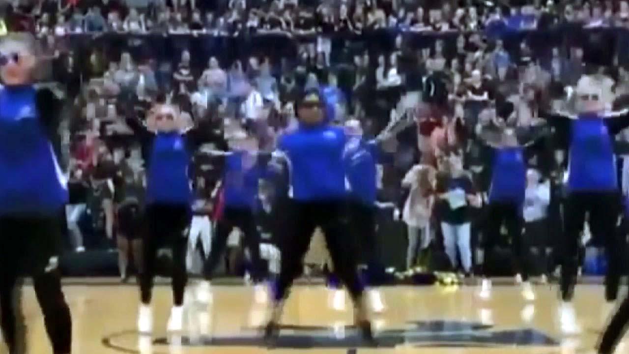 [지구촌생생영상] 전교생 열광시킨 교감 선생님의 댄스 공연