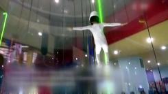 [지구촌생생영상] '고난도 묘기와 회전기술'...6살 스카이다이빙 신동