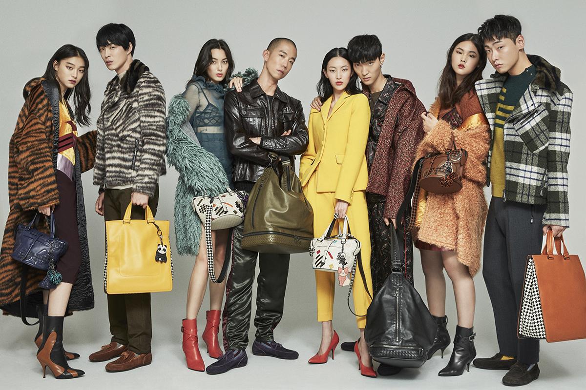 YG 케이플러스 모델들, 감각적인 무드 담긴 보테가베네타 화보 함께해!