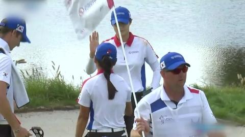 LPGA 국가대항전 첫날 한국, 타이완에 2승...조별리그 선두