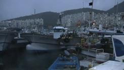 전남 남해안 어선 2만여 척 피항...여객선 운항도 통제