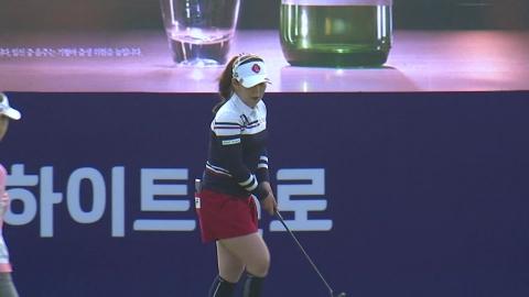 '다승 선두' 이소영, 하이트진로 2R 선두...시즌 4승 기회