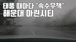 [자막뉴스] 태풍 때마다 '속수무책'...해운대 마린시티