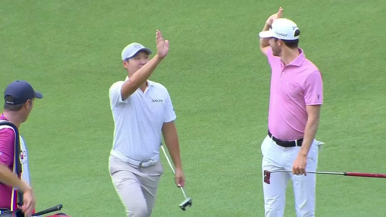 뉴질랜드 교포 대니 리, PGA 투어 시즌 첫 홀인원 행운