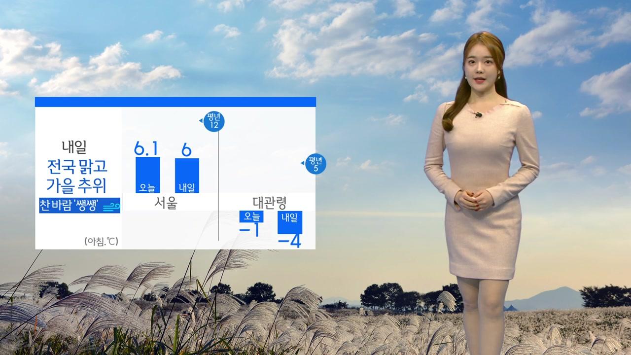 [날씨] 가을 추위 기승...아침 올가을 최저 기온 또 경신